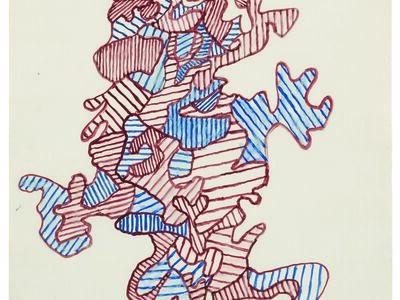 Jean Dubuffet, 'Personnage en marche', 1962