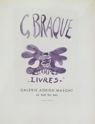 Georges Braque, 'Estampes Livres', 1959