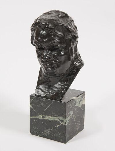 Auguste Rodin, 'Balzac, étude C (buste), 3ème version, petit modèle', 1918-1927