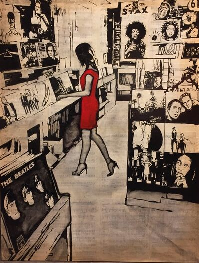 Will Armstrong, 'I Always Fall in Love at the Record Shop', 2019