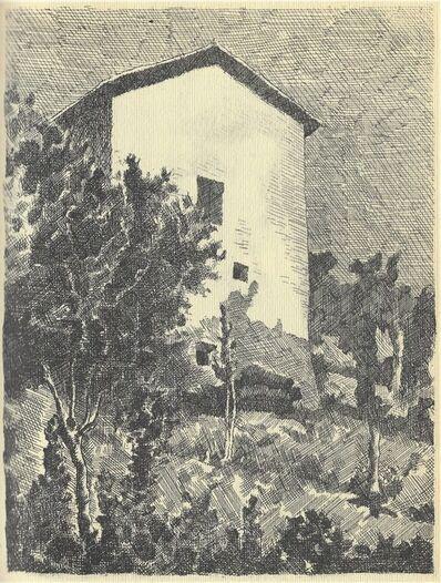 Giorgio Morandi, 'Paesaggio (Casa a Grizzana)', 1927