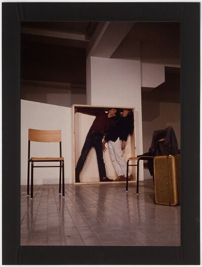 Claudio Abate, 'Yvonne Rainer / Philip Glass, 'Lives of Performers' at 'Music and Dance U.S.A'. L'Attico, Rome (Via Beccaria Garage)', 1972