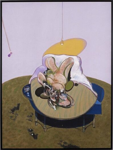 Francis Bacon, 'Lying Figure (Q2B), 1969'