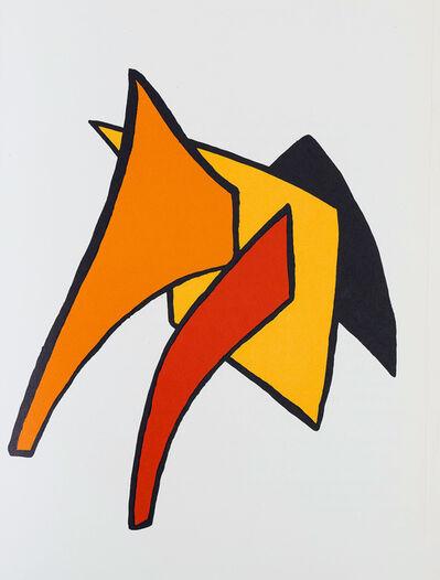 Alexander Calder, 'Alexander Calder Stabiles lithograph 1963 (Calder prints)', 1963