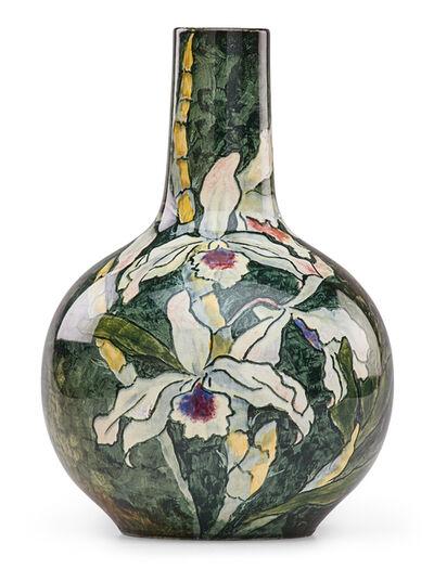 John Bennett, 'Vase with Cattleya orchids, USA', late 19th century
