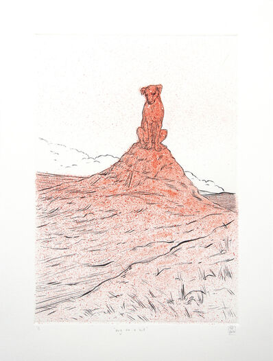 Nina Torr, 'Dog on a Hill', 2018