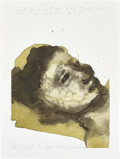 Marlene Dumas, 'United Europe', 2003/05