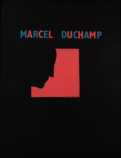 Marcel Duchamp, 'Poster after Self-Portrait in Profile', 1959