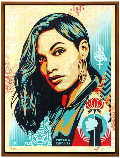 Shepard Fairey (OBEY), 'Power and Equality: Flower', 2020