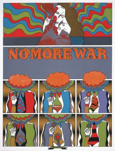 Keiichi Tanaami, 'NO MORE WAR_2', 1967