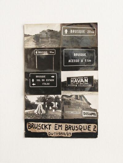Paulo Bruscky, 'Bruscky in Brusque', 1989