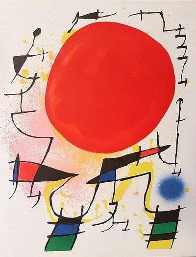 Joan Miró, 'Mirò Lithographe I - Plate III', 1972