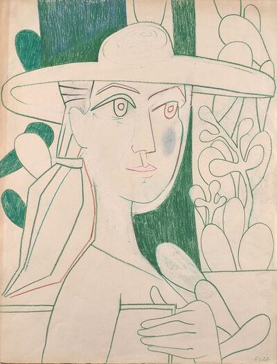 Françoise Gilot, 'Le Peintre Au Vert', 1952
