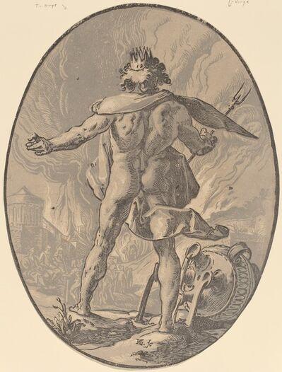 Hendrik Goltzius, 'Pluto', 1588/1590