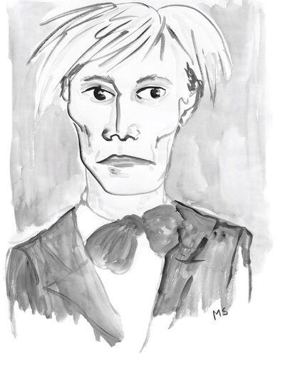 manuel santelices, 'Andy Warhol', 2017
