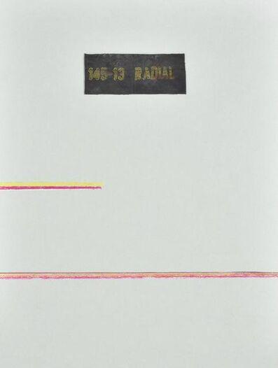 Carol Rama, 'Luogo E Segni', 1978