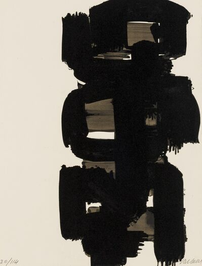 Pierre Soulages, 'Lithographie no.18 (Riviere 20)', 1968