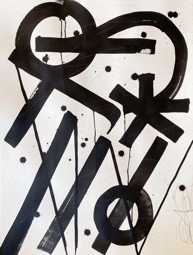 RETNA, 'Untitled Paper XIV', 2018