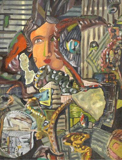 Sandro Chia, 'Viso e composizione', 1988