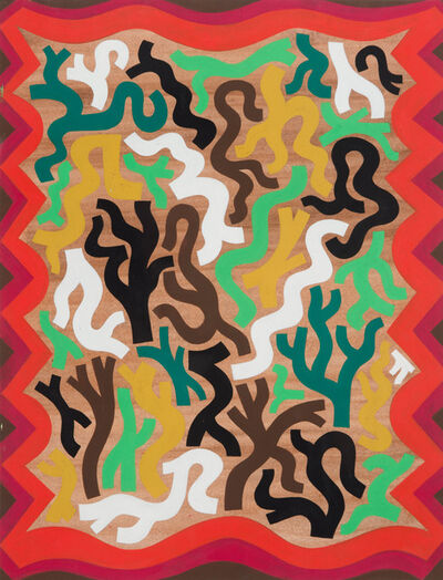 Isaac Tin Wei Lin, 'Abstract Rug Design for a Dwelling in the Forest', 2012