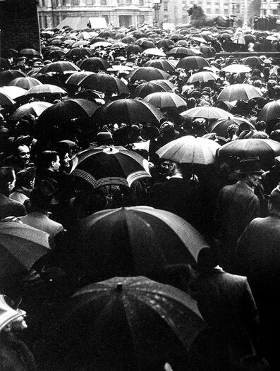 Wolfgang Suschitzky, 'Second Front Meeting, Trafalgar Square, London ', 1942
