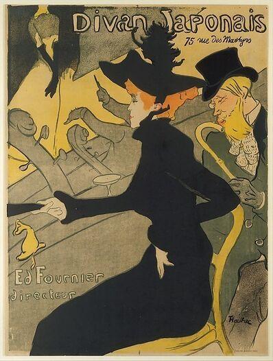 Henri de Toulouse-Lautrec, 'Divan Japonais (Japanese Settee)', 1893