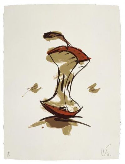 Claes Oldenburg, 'Apple Core - Autumn', 1990