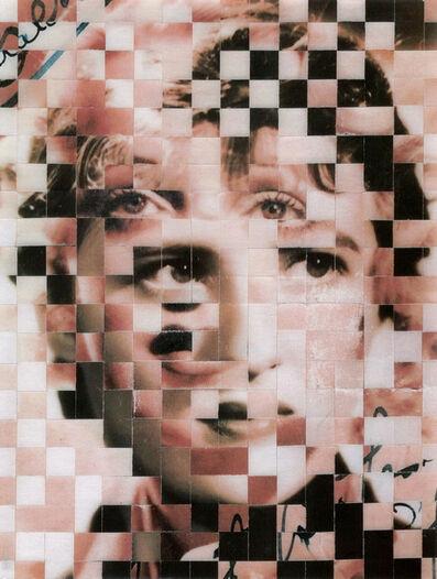 Samin Ahmadzadeh, '10,000 Faces XII', 2018