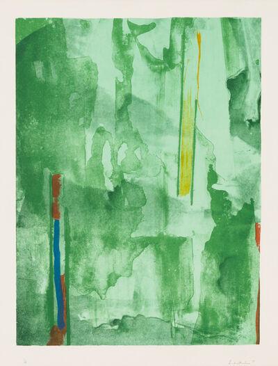 Helen Frankenthaler, 'Barcelona', 1977