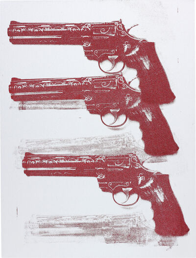 Russell Young, 'Elvis TCB Gun', 2011