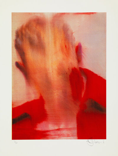 Conor Harrington, 'Head Of State (Red)', 2017