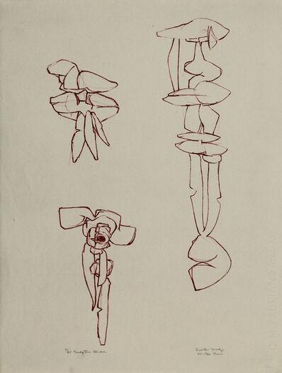 Dimitri Hadzi, 'Sculpture Studies', 1960