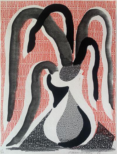 David Hockney, 'Drooping Plant', 1986