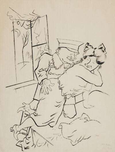 George Grosz, 'Upperclass Daughter', 1922