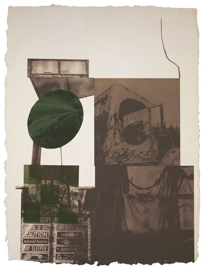 Robert Rauschenberg, 'Rookery Mounds - Moon Melon', 1979