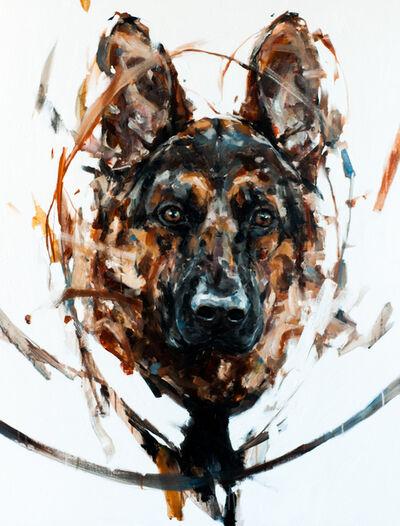 Thibault Jandot, 'German Shepherd 2', 2015