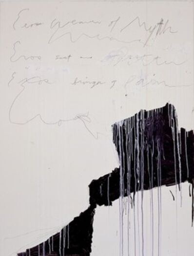 Cy Twombly, 'Coronation of Sesostris', 2000