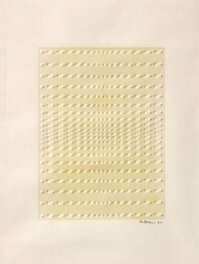 Enrico Castellani, 'Senza titolo', 1967