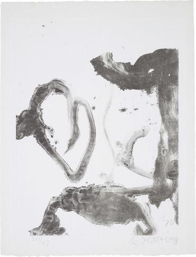 Willem de Kooning, 'Valentine', 1970