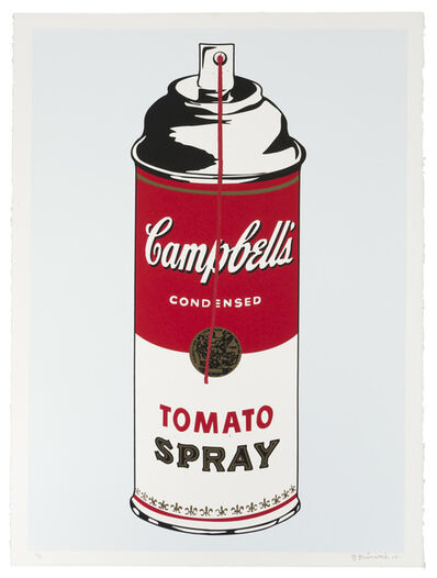 Mr. Brainwash, 'Tomato Spray', 2008