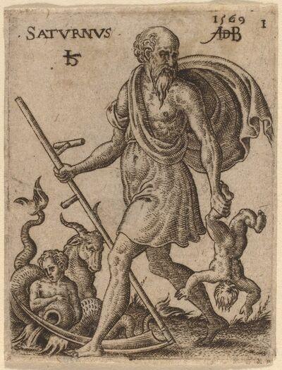 Abraham de Bruyn, 'Saturn', 1569