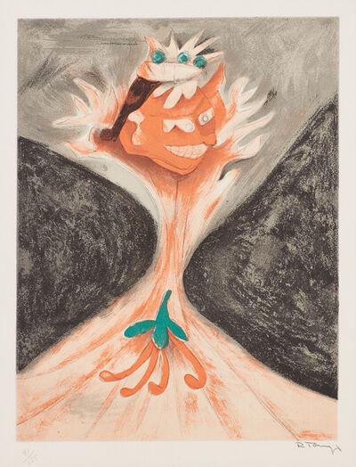 Rufino Tamayo, 'Tezcatlipoca, el diablo de México (Tezcatlipoca, The Devil of Mexico), from Aztlán, sueños mexicanos (Aztlan, Mexican Dreams) (P. 40)', 1952
