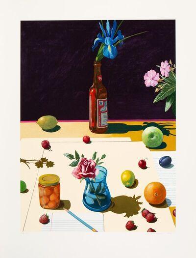 Paul Wonner, 'Still Life with Flowers', 1992