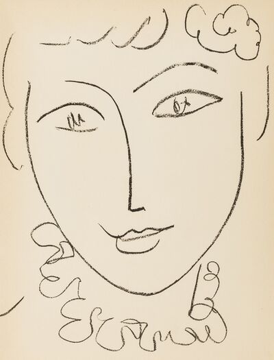 Henri Matisse, 'From Portraits (Duthuit 670; Duthuit Books 33)', 1954