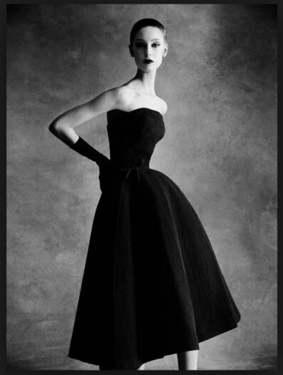 Patrick Demarchelier, 'Dior Sonnet dress, Autumn - Winter 1952 Haute Couture Collection', 2013