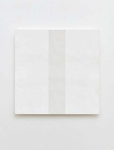 Mary Corse, 'White Inner Band Beveled', 1999