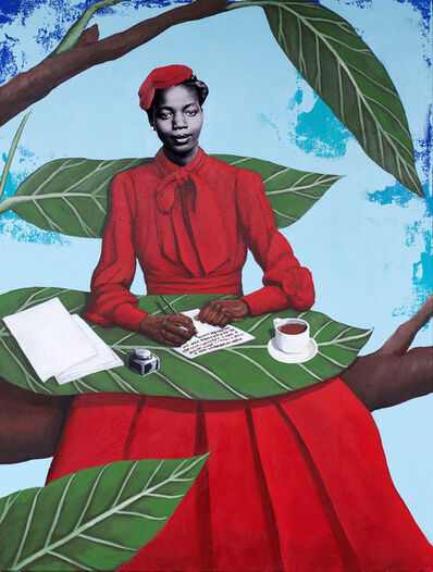 Cedric Smith, 'The Writer', 2019