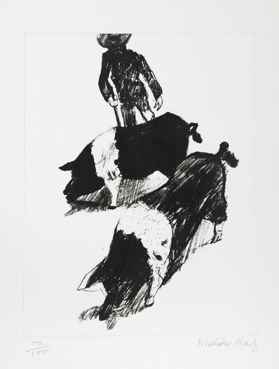Malcolm Morley, 'Pigs', ca. 1980