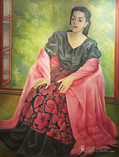 "Diego Rivera, '""Dama Oaxaqueña""', 1949"