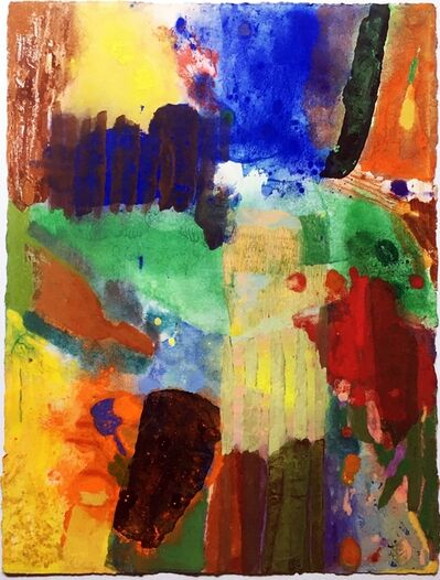 Donald Kelley, 'Untitled Abstract Expressionist painting', ca. 1980